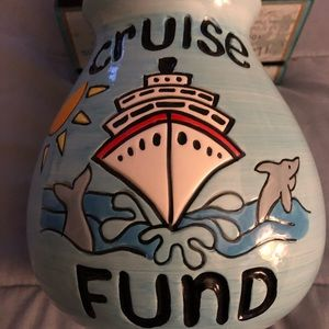 Cruise Fund Pottery Bank.